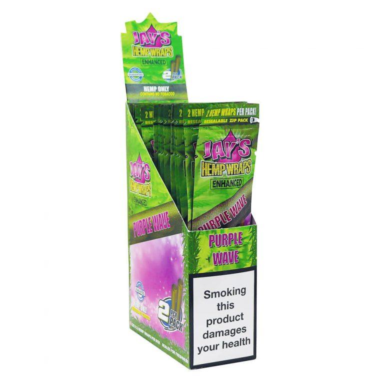 Acquista allingrosso Kingpin Hemp Wraps Blunt Purple